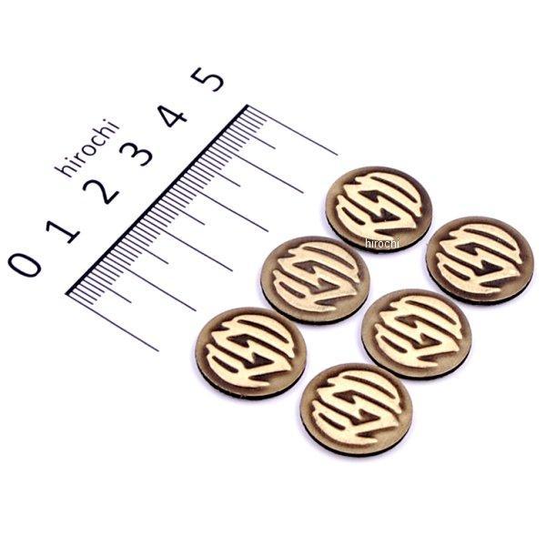 ローランドサンズデザイン RSD バッジキット RSDロゴ 真鍮 6個入り 0208-2067 HD店