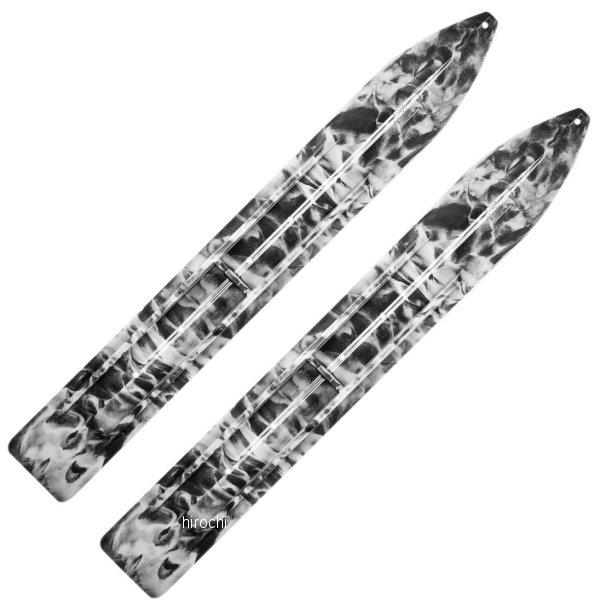 【USA在庫あり】 Slydog Skis トレイル スキー 黒/白 (左右ペア) 4602-0082 HD