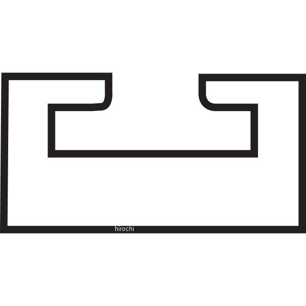 【USA在庫あり】 04-192 キンペックス(Kimpex) スライド 52-1/2インチ(1334mm) Ski-Doo グラファイト