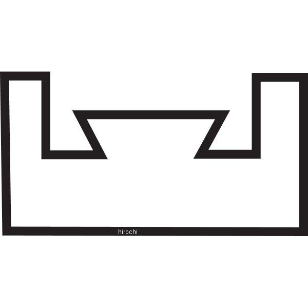 【USA在庫あり】 キンペックス Kimpex スライド 54-5/8インチ(1387mm) ヤマハ 赤 04-197-02 HD店
