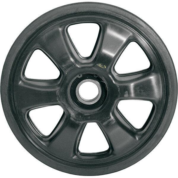 【USA在庫あり】 Parts Unlimited アイドラー ホイール 178mm x 20mm 黒 4702-0091 HD店