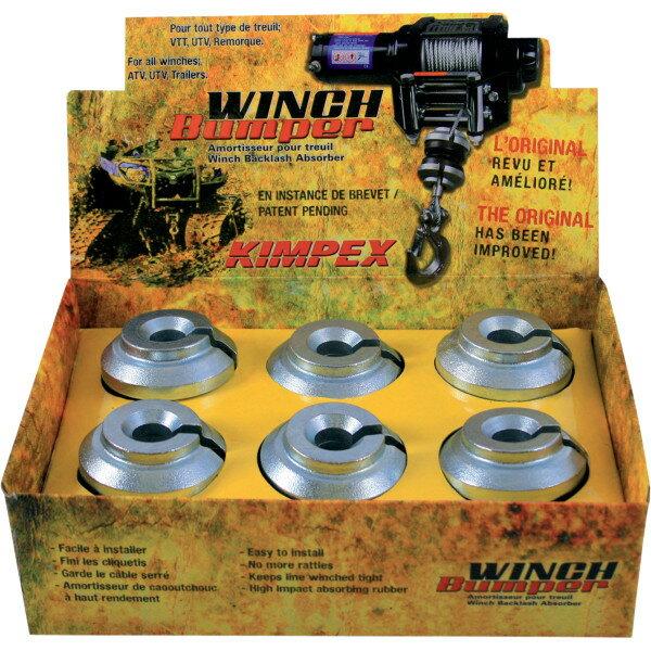 【USA在庫あり】 キンペックス Kimpex ウインチ ウインチ バンパー GEN3 (6個売り) 4505-0457 HD店