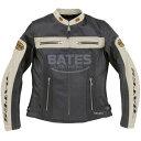 ベイツ BATES 2WAY パンチドホールレザージャケット レディース 黒 Mサイズ BAJ-L147 HD店