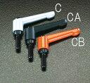 【メーカー在庫あり】 エスコ ESCO M8x20mm クランプレバー ブラック 000012009216 HD
