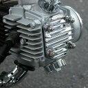 【メーカー在庫あり】 101-1413 キジマ エンジントップカバー ブラック モンキー・ゴリラ・D
