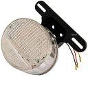 【メーカー在庫あり】 801-0610110 キタコ LEDテールランプ Z-2 プレート付き クリ