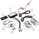 1080007-3 アクティブ ACTIVE デジタルモニター V3 レブ&テンプ用 電源用ハーネス