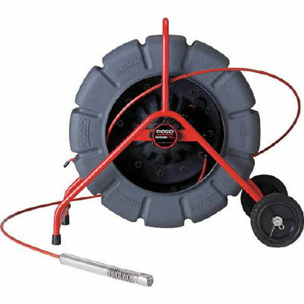 13998 405-3672 Ridge Tool Compan RIDGE シースネイクレギュラーカラー100Mリール自動水平 KDR325SL