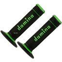 A19041C4440 ドミノ Domino グリップ オンロード エクストリーム 118mm 黒/グリーン 右左セット