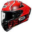 4512048459826 ショウエイ SHOEI ヘルメット X-Fourteen MARQUEZ4 TC-1 赤/黒 Lサイズ