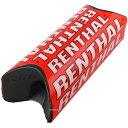 【USA在庫あり】 0601-2145 P274 レンサル RENTHAL パッド ハンドルバー用 ファット チーム 全長254mm 赤