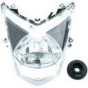【メーカー在庫あり】 OP11201 オプティマム Optimum LEDヘッドライト シグナスX、SR SE44J クリアレンズ