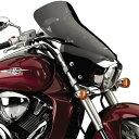 【USA在庫あり】 552144 N28202 ナショナルサイクル National Cycle Vストリーム ツーリング ウインドシールド 07年-14年 M109R ブルバード ダークスモーク