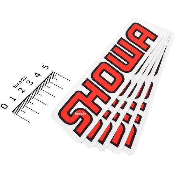 【USA在庫あり】 ファクトリーFX FACTORY EFFEX ロゴステッカー SHOWA 140mm 5枚入り FX04-2673 JP