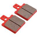 【メーカー在庫あり】 79848 デイトナ ブレーキパット 赤パッド DUCATI APRILIA BREMBO 2POT(カニ)