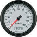 【USA在庫あり】 2211-0111 19598 オートメーター Autometer 3-3/8インチ(86mm) タコメーター ファンタム II