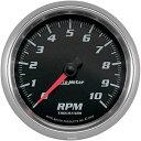 【USA在庫あり】 2211-0112 19698 オートメーター Autometer 3-3/8インチ(86mm) タコメーター コバルト