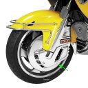 【USA在庫あり】 417386 52-654 ショークローム Show Chrome クローム フロント ローターカバー 01年-13年 GL1800、F6B