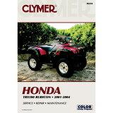【USA在庫あり】 4201-0062 M210 クライマー(Clymer) マニュアル 整備書 01年-04年 TRX500 RUBICON