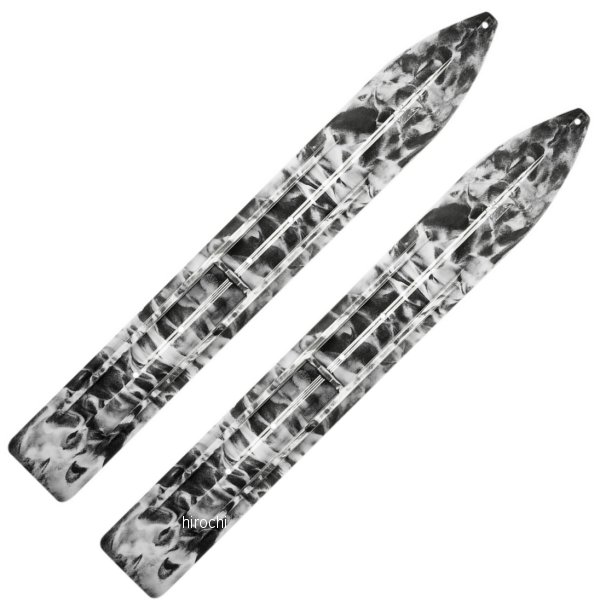 【USA在庫あり】 Slydog Skis トレイル スキー 黒/白 左右ペア 4602-0082 JP