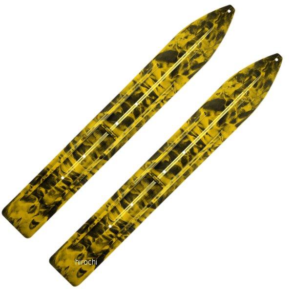【USA在庫あり】 Slydog Skis トレイル スキー 黒/黄 左右ペア 4602-0083 JP