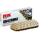 【USA在庫あり】 RK428MXZ116 GB428MXZ-116 アールケー RK Racing 強化チェーン ノンシール クリップ G...