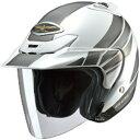 0SHGS-GW1A-W ホンダ純正 ジェットヘルメット Honda GW-1 パールホワイト Xサイズ(61cm)