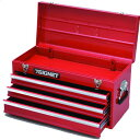 SG513 シグネット ツールボックス 3段 ベアリングレール(赤)(54335)