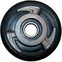 【USA在庫あり】 Parts Unlimited アイドラー ホイール 130mm x 1インチ(25mm) シルバー 4702-0025 JP店