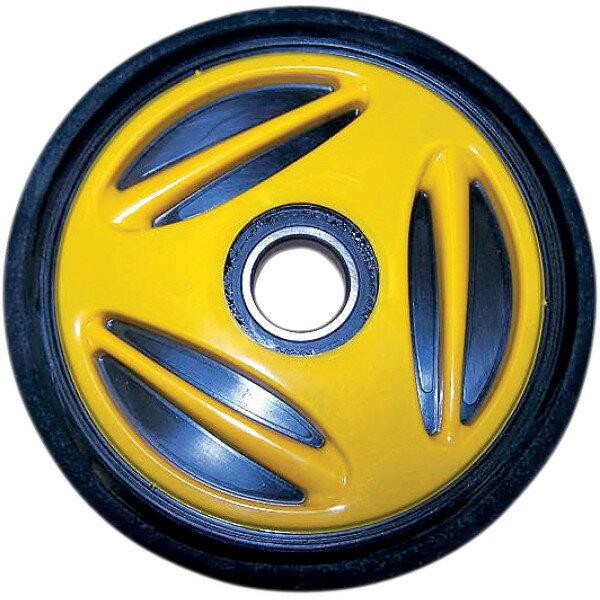 【USA在庫あり】 Parts Unlimited アイドラー ホイール 165mm x 1インチ(25mm) 黄 4702-0034 JP店