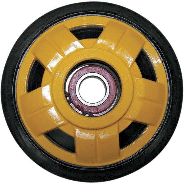 【USA在庫あり】 Parts Unlimited アイドラー ホイール 141mm x 20mm 黄 4702-0078 JP店