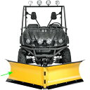 【USA在庫あり】 4501-0198 ムース MOOSE Utility Snow プラウ ブレード V-ブレード 幅72インチ(1.83m) 右 08年-13年 ヤマハ YXR700F Rhino