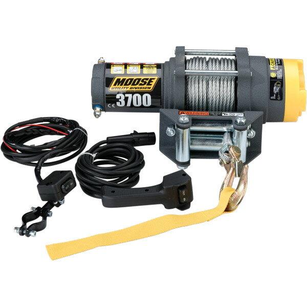 【USA在庫あり】 4505-0408 ムース MOOSE Utility Division ウインチ 1,665Kg 有線リモコン/ワイヤーロープ