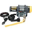 ムースMOOSEUtilityDivisionウインチ1,665Kg有線リモコン/ワイヤーロープ 4505-0408