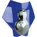 【USA在庫あり】 2001-0535 36T5C-70 トレイルテック(Trail Tech) ヘッドライト キット X2 70W ハロゲン 07年-11年 WR450F、WR250F BL