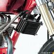 14051523 アクティブ ACTIVE オイルクーラーステーセット 横 ストレート 4.5インチ10段 シリンダー取出タイプ 01年-08年 エイプ100 シルバー