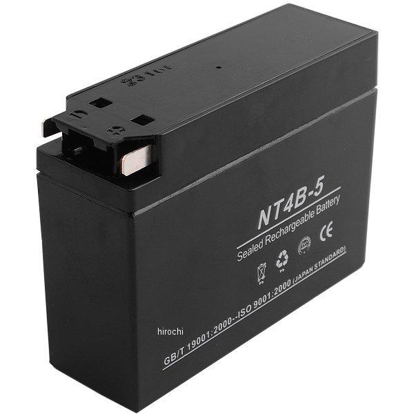 【即納】 NBS バイクパーツセンター MFバッテリー 12V GT4B-5、YT4B-5、YT4B-BS互換 NT4B-5 JP店