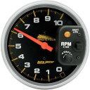【USA在庫あり】 DS-244016 19208 オートメーター Autometer タコメーター 10000rpm スタンダード サテン 5インチ 一体型シフトライト付き