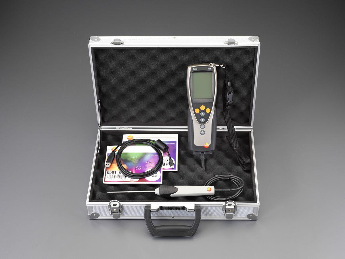 【メーカー在庫あり】 EA701AK-0A エスコ ESCO デジタル温度計セット 【送料サービス】