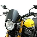 HA6109 ハリケーン フロントバイザー XSR900 黒