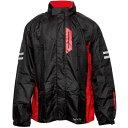 【メーカー在庫あり】 RK-539 コミネ ブレスターレインウェア フィアート ブラック Mサイズ