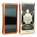 710-A01-0061 モリワキ iPhone4s、4用 ケース オレンジ/チタン