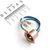 【即納】 270837 ポッシュ POSH バルブソケット ギボシタイプ モンキー/カブ系 ヘッドライト用