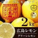 【皮までまるごと♪塩レモン作りにどうぞ!】【出荷総数日本一!】瀬戸内産 広島レモン[エコレモン2kg](13個-25個)【広島レモン】レモン生産数日本一の広島県からお届け致します。皮まで安心して食べれられます【国産レモン】 - 広島デパート