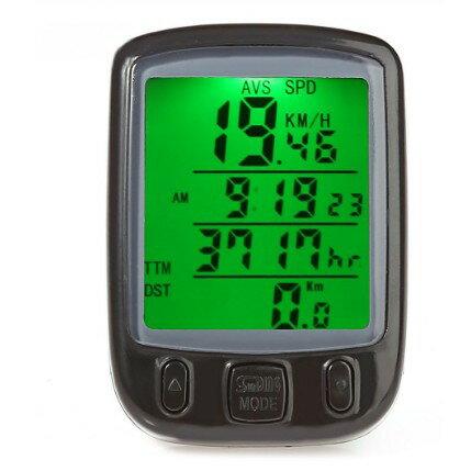 有線サイクルコンピュータSD-563A自転車距離計測サイクルメーター防水サイコン[自転車用品][定形