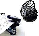 ソーラー ミニクリップ扇風機 コンパクト 冷風 送風機 サーキュレーター[夏の特集][夏物][定形外郵便、送料無料、代引不可]