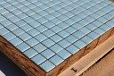 スモークガラスモザイクタイル 20ミリ角 A-10 水色