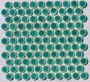 27ミリ丸 窯変グリーン色 AS-3