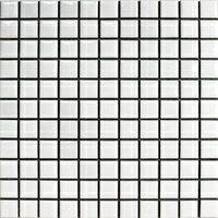 昔ながらのモザイクタイル 25mm角 白色ブライト N-1...:hiromitobo:10000002