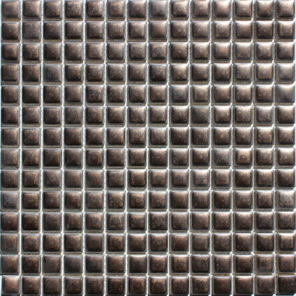 窯変 モザイク19ミリタイル N-211 いぶし金